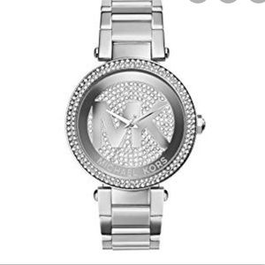 MK stainless steel watch